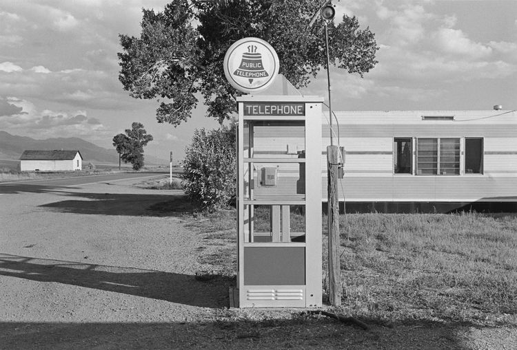 Stephen Shore (American, b. 1947), <i>Proton Avenue, Gull Lake, Saskatchewan, August 18, 1974</i>; © Stephen Shore