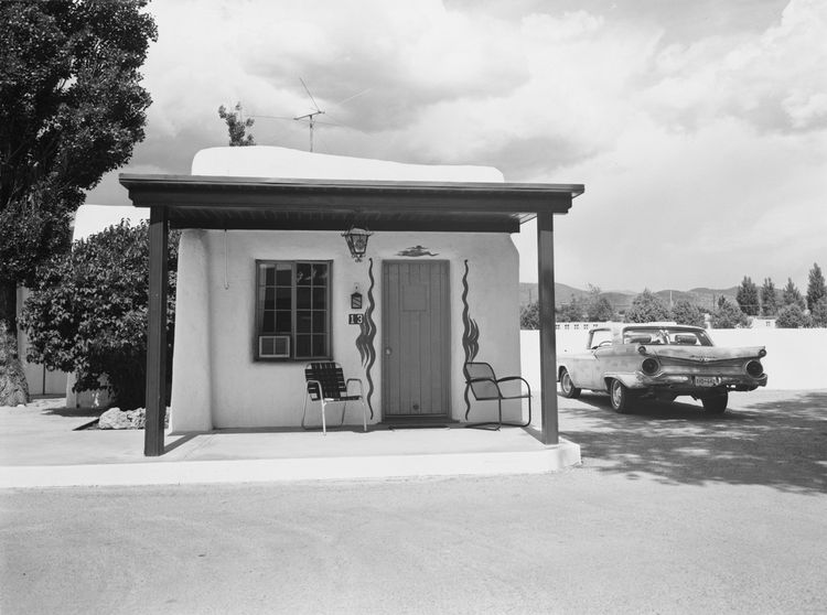 John Schott (American, b. 1944), <i>Untitled from the series Route 66 Motels</i>, 1973; George Eastman House collections; © John Schott