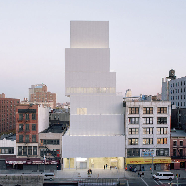 Another project that brought Sanaa significant attention in the U.S. was the New Museum of New York City, which broke ground in 2005. In 2007, the museum opened looking like a stack of six white boxes piled upon one another, the neutral palette set off on