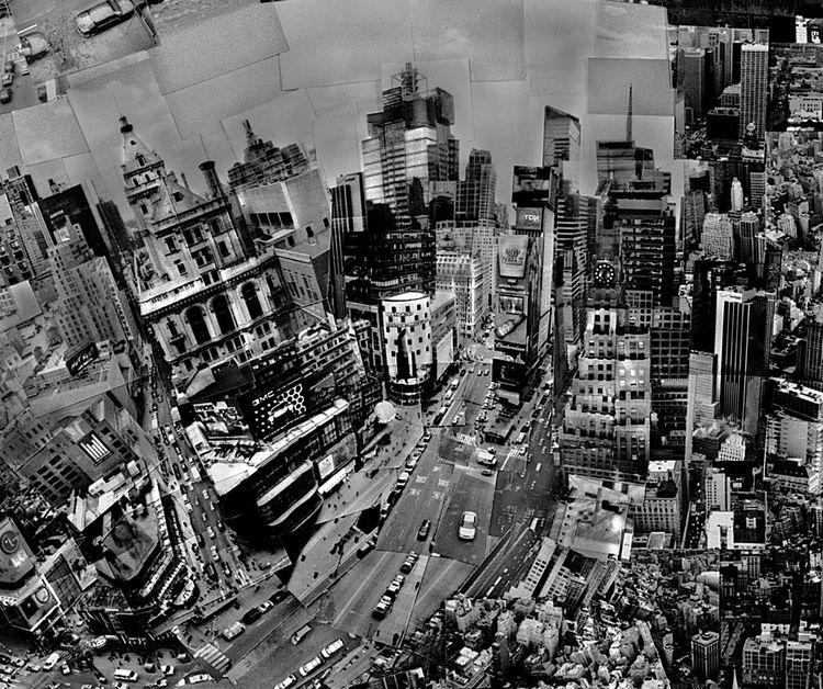 Nishino captured Times Square…<br /><br /><i>Diorama Map New York</i>, 2006, Light jet print on Kodak Endura paper, 133 x 172 cm, © Sohei Nishino, Courtesy of Michael Hoppen Contemporary/ Emon Photo Gallery.