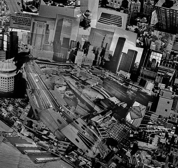 …and Ground Zero…<br /><br /><i>Diorama Map New York</i>, 2006, Light jet print on Kodak Endura paper, 133 x 172 cm, © Sohei Nishino, Courtesy of Michael Hoppen Contemporary/ Emon Photo Gallery.