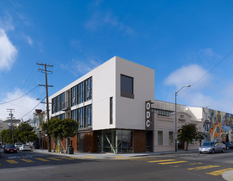 Architect Mark Cavagnero had done a masterplan for ODC, the commission for their dance commons building went to another designer. But when it came time to renovate the old theater, built for the company in the 80s, Cavagnero got the job. He recalled his f
