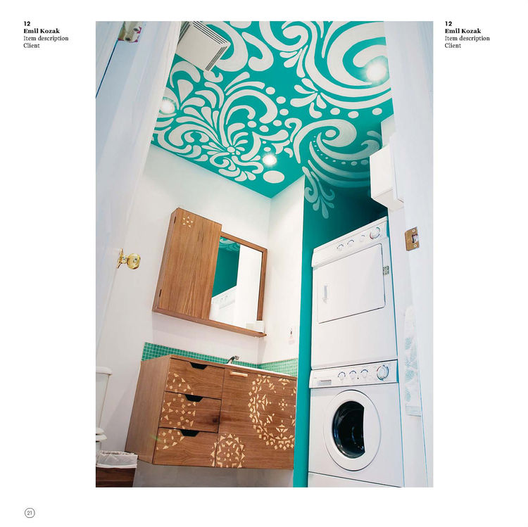 Page from <i>One Day of Design</i>, published by Gingko Press