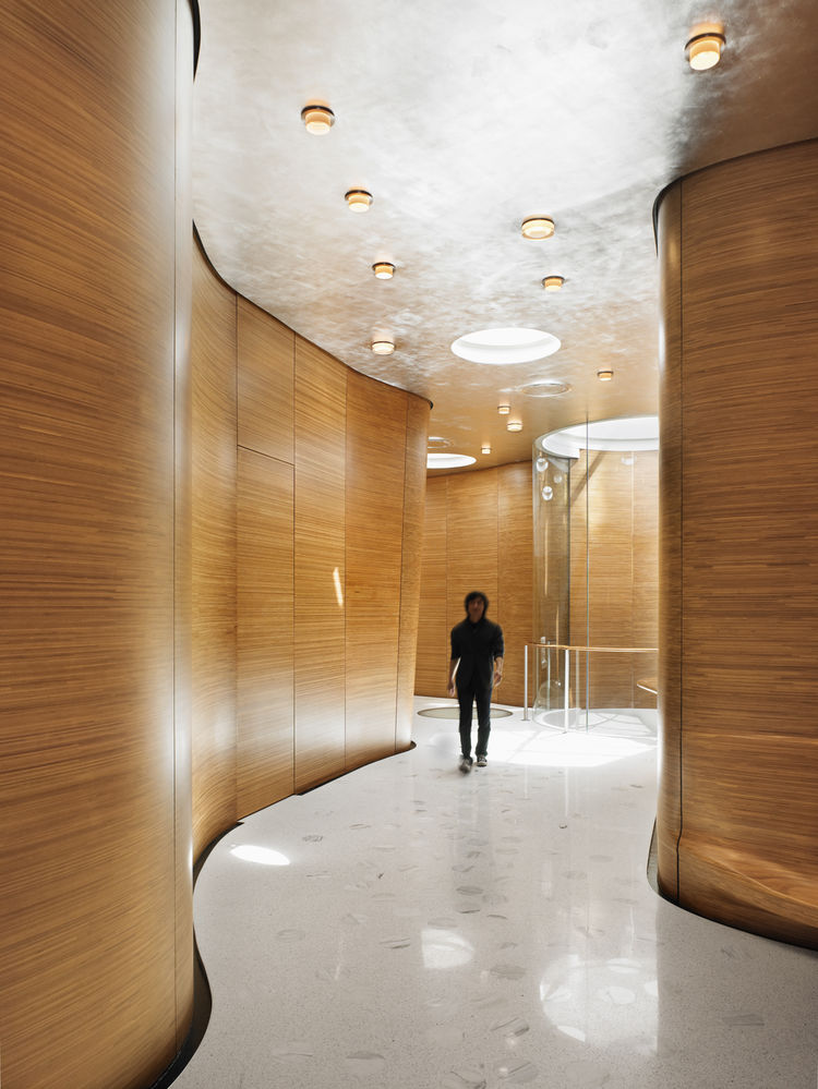 """One Jackson Square in New York City. Designed by Kohn Pedersen Fox Associates, PC. Winner of the 2011 Institute Honor Award for Architecture. Project description: """"This 35-unit luxury residential building, located in Manhattan's Greenwich Village is home"""