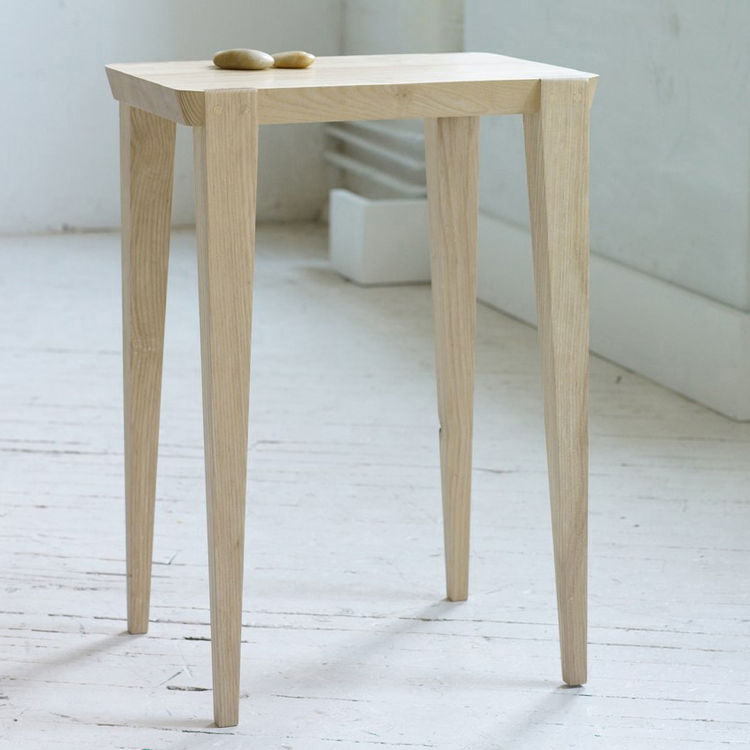 "<b>Oslo Side Table</b> by Andrew Moe for <a href=""http://www.studiomoe.com"">Studio Moe</a>, $550"