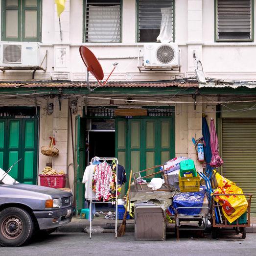 """""""Shophouse Front,"""" Bangkok, Thailand. (2010)"""