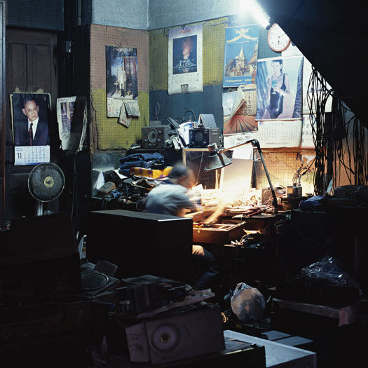 """""""Electrician,"""" Bangkok, Thailand. (2010)"""