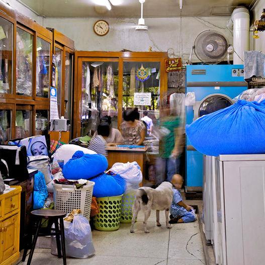 """""""Laundry,"""" Bangkok, Thailand. (2010)"""