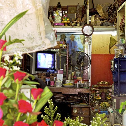 """Florist's,"" Bangkok, Thailand. (2010)"