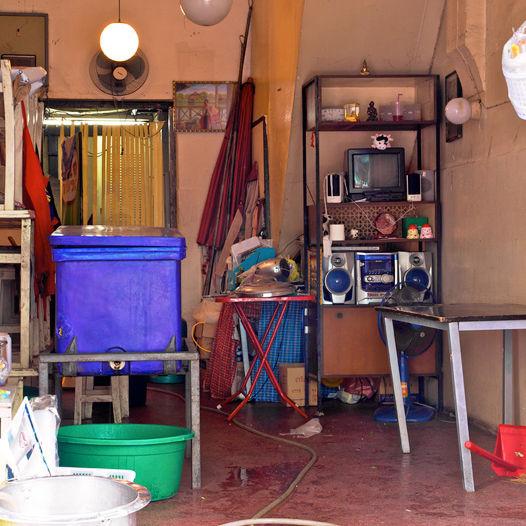 """""""Cleaning Up,"""" Bangkok, Thailand. (2010)"""