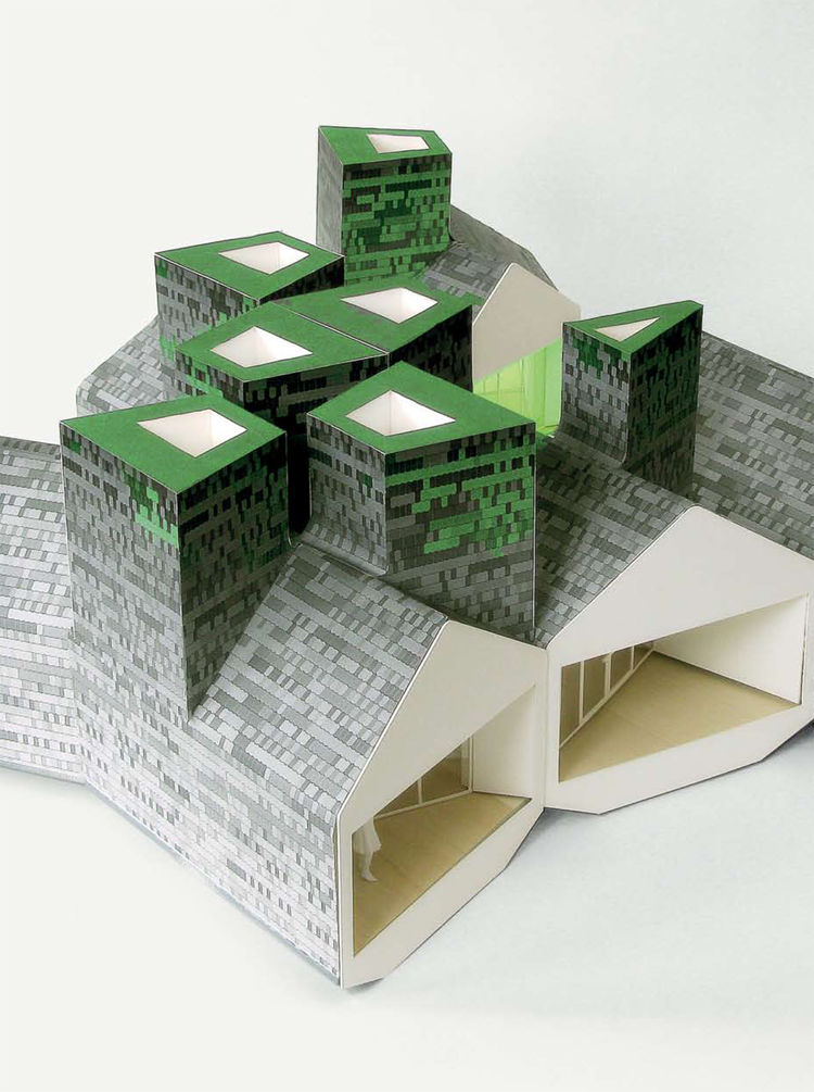 """Element House (prototype architectural dwelling using modular components) by <a href=""""http://www.mos-office.net"""">MOS</a>."""