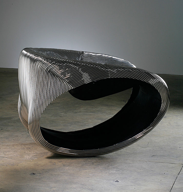 "MT Rocker Chair (2005)<br/><br/>Photo by Erik and Petra Hesmerg and courtesy of Private Collection, Maastricht, and the <a href=""http://www.moma.org"">Museum of Modern Art</a>"
