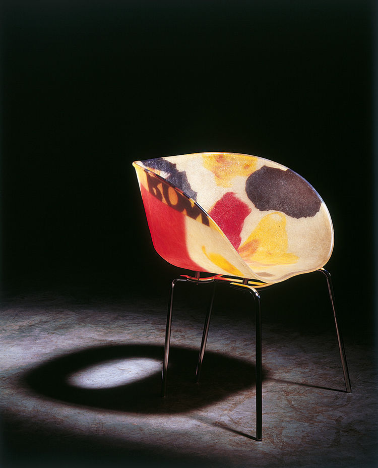 "Pic Chair (1997)<br/><br/>Photo by Erik and Petra Hesmerg and courtesy of Private Collection, Maastricht, and the <a href=""http://www.moma.org"">Museum of Modern Art</a>"