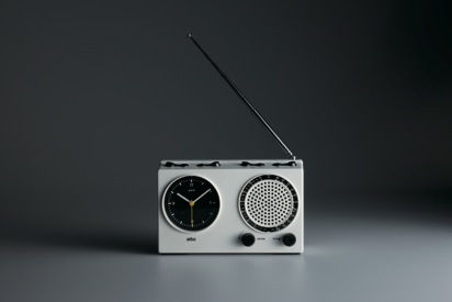 """The ABR 21 signal radio by Rams and Dietrich Lubs is a Braun entry in the clock radio race from 1978. <br /><br /><p><em><strong>Don't miss a word of Dwell! Download our </strong></em><a href=""""http://itunes.apple.com/us/app/dwell/id411793747?mt=8""""><em><st"""