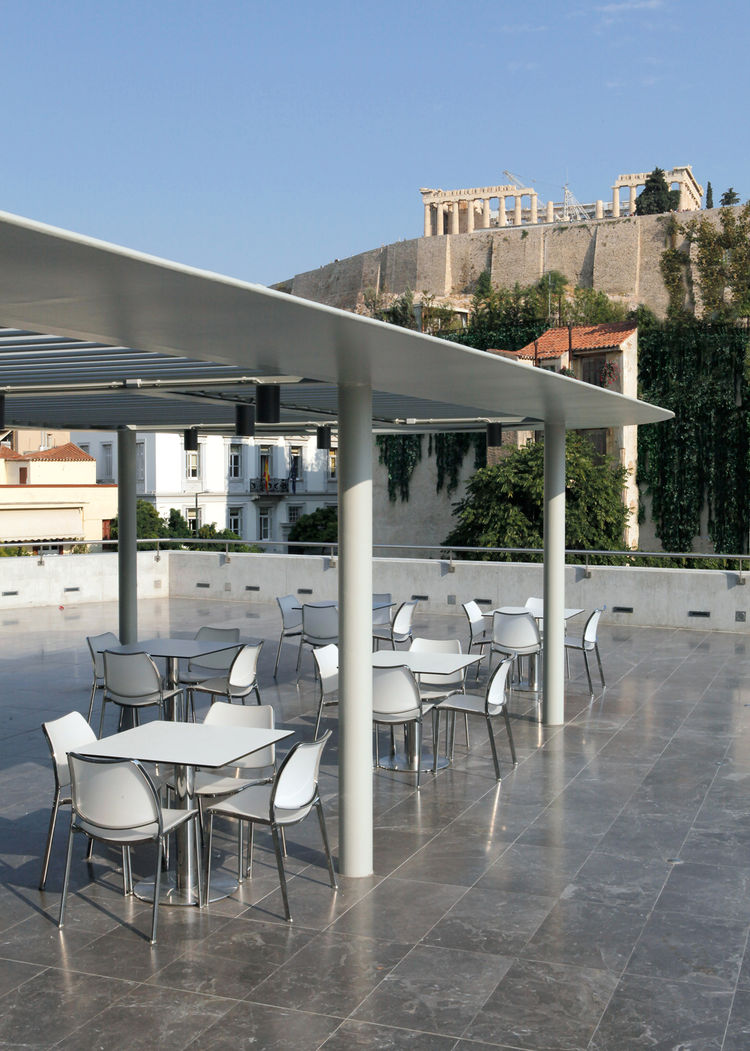 """Gas chair has allowed us to be part of amazing projects, like the Acropolis Museum of Athens."""