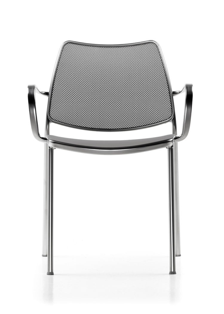 """This is the Gas chair, that had a huge impact when it launched in 2000. It's a light and recognizable design."""