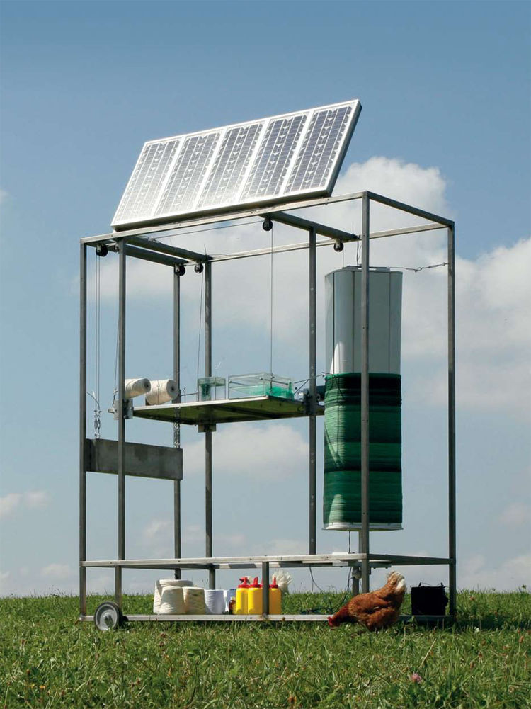 """The Idea of a Tree (small, solar-powered manufacturing units) by <a href=""""http://www.mischertraxler.com/"""">Mischer'Traxler</a>."""