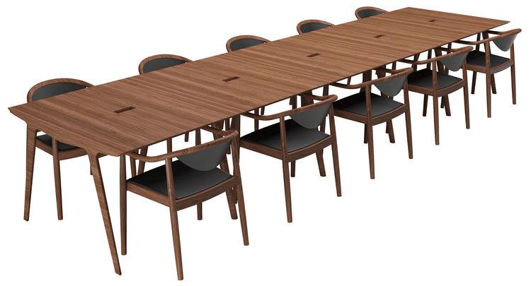 "Designer <a href=""http://www.sup.dk/"">Søren Ulrik Petersen</a>'s chair design also appears Wegner-inspired."