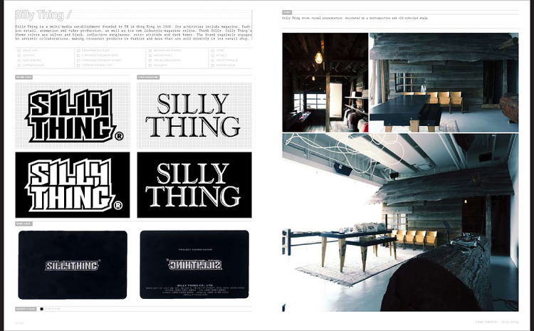 Spread from <i>Super Identity</i>, published by Gingko Press