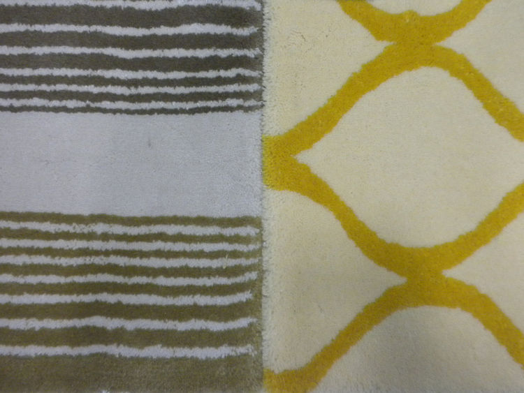 "<a href=""http://www.creativeaccents.com"">Wools of New Zealand</a> collaborated with a number of companies making use of Kiwi fibers to highlight the export. Shown here are two area rugs by <a href=""http://www.creativeaccents.com"">Creative Accents</a>."