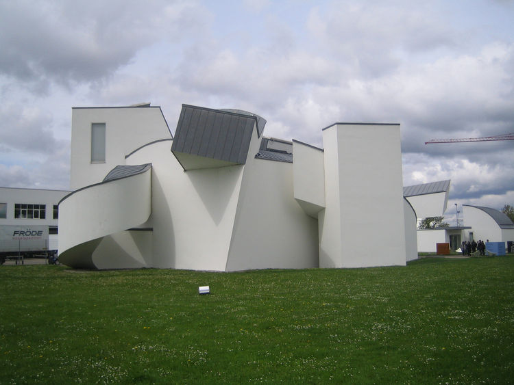 This is the Design Museum by Gehry viewed from behind. It was his first building outside the US.