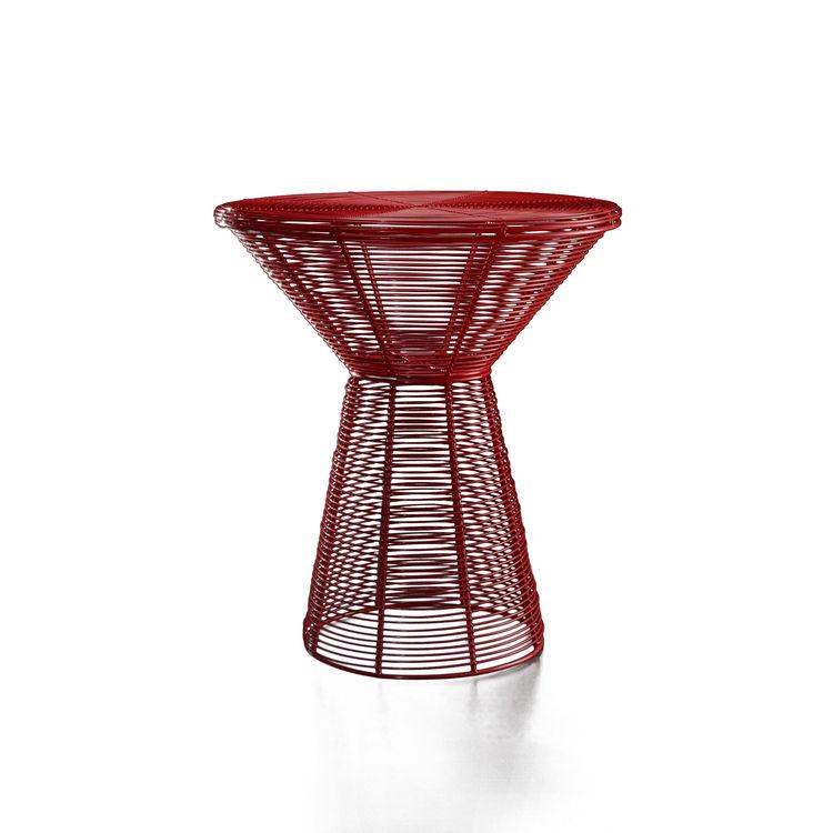 "<b>TaTu Side Table</b> by Stephen Burks for <a href=""http://www.artecnicainc.com"">Artecnica</a>, $440"
