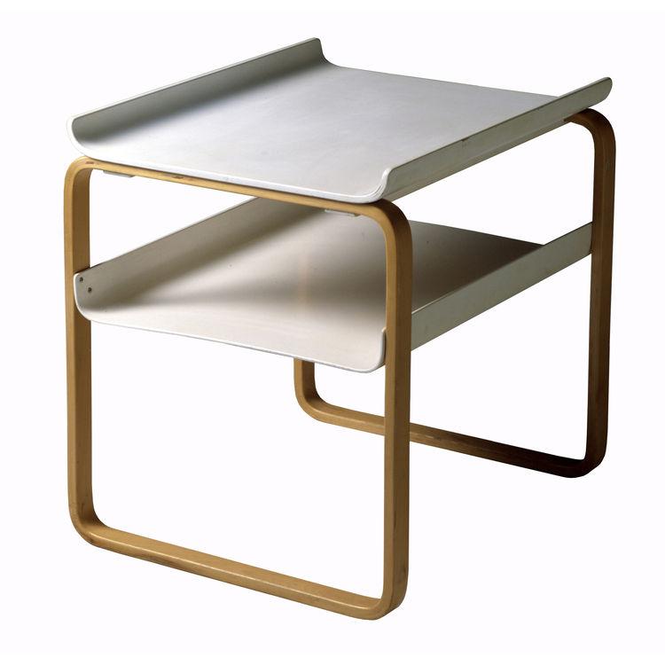 """<b>Table 915</b> by Alvar Aalto for <a href=""""http://www.artek.fi"""">Artek</a>, $1,460"""