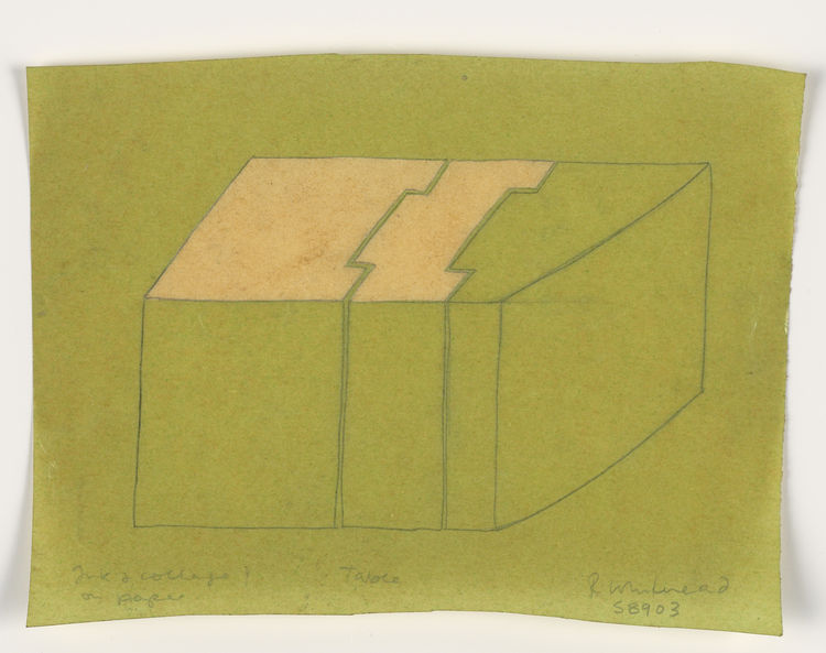 """<i>Table</i> (1989) by Rachel Whiteread, on display at the <a href=""""http://hammer.ucla.edu"""">Hammer Museum</a> through April 25, 2010. Image courtesy of the Hammer Museum."""