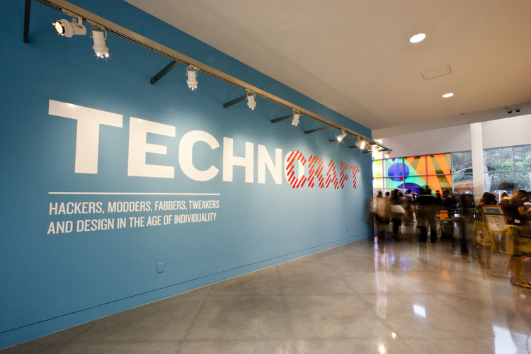 <i>TechnoCRAFT: Hackers, Modders, Fabbers, Tweakers, and Design in the Age of Individuality</i> opened July 6 at the Yerba Buena Center for the Arts in San Francisco and kicked off with an opening night party July 9. Photo by Justin Korn.
