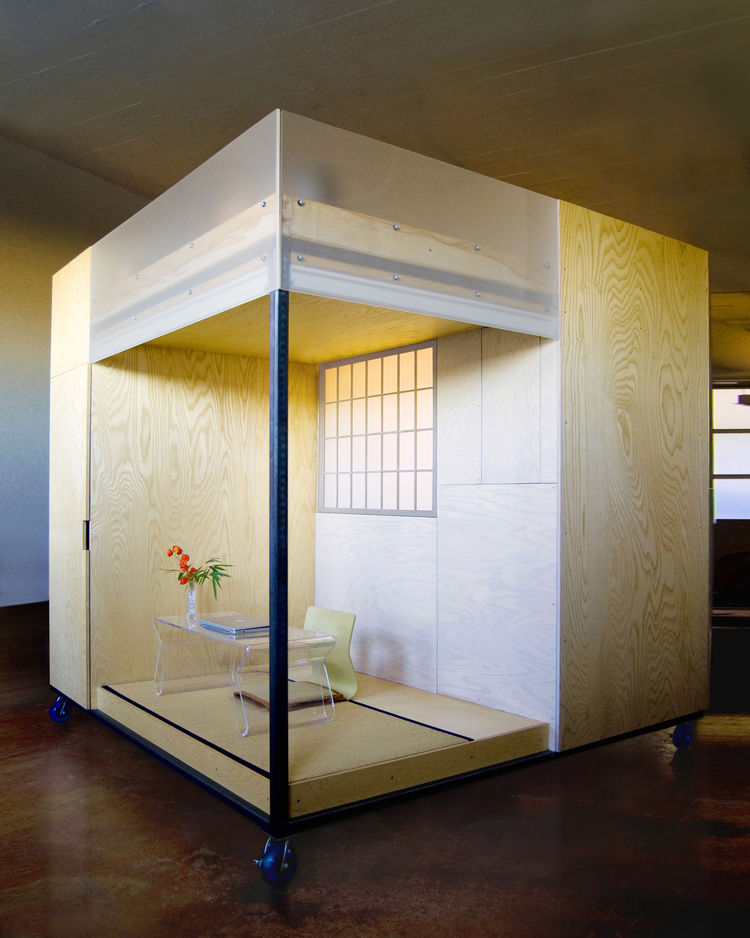 """<a href=""""http://www.spaceflavor.com/"""">SPACEFLAVOR</a> was named the Honor Award winner for the Live category for The Cube, a live-work space within the apartment of Buddhist practitioner Liu Ming."""