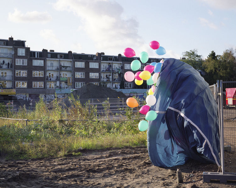 Site of the Western Mosque in Amsterdam photographed by Christian van der Kooy.