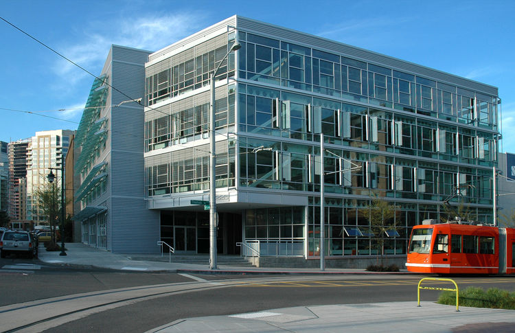 """The Terry Thomas (exterior view) in Seattle, Washington, by <a href=""""http://www.weberthompson.com"""">Weber Thompson</a>. Photo by Gabe Hanson."""