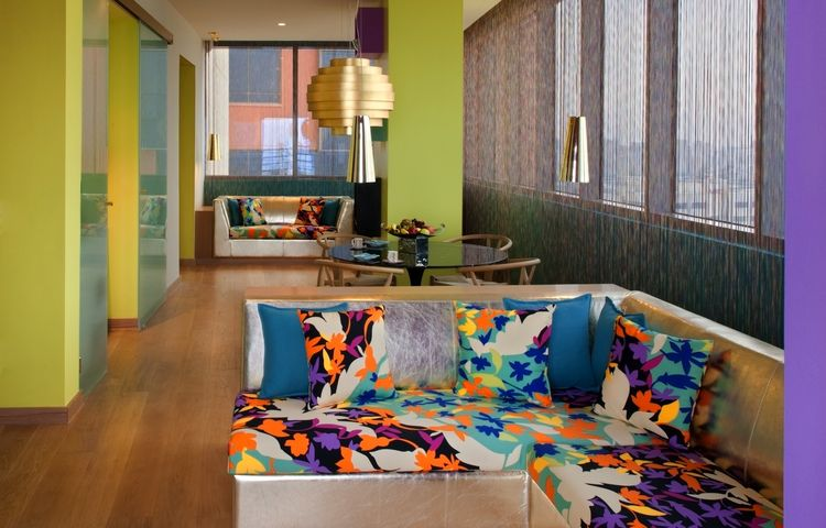"""There are 18 floors and 169 rooms, all overlooking the sea. The hotel is very techno-savvy: guests check in with iPads and can watch movies on demand on cutting-edge Bang & Olufsen TVs. Photo by <a href=""""http://www.gerryoleary.com/"""">Gerry O'Leary</a>."""