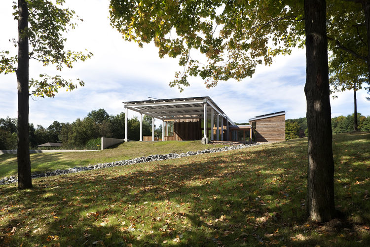 "<b>Project:</b> Omega Center for Sustainable Living<p></p><b>Location:</b> Rhinebeck, New York<p></p><b>View:</b> Exterior<p></p><b>Architect:</b> <a href=""http://www.bnim.com/fmi/xsl/index.xsl"">BNIM Architects</a><p></p><p></p><b>AIA summary:</b> ""The Om"