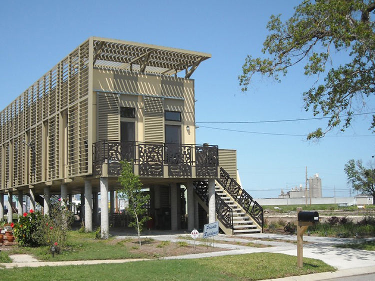 "<b>Project:</b> Special No. 9 House<p></p><b>Location:</b> New Orleans, Louisiana<p></p><b>View:</b> Exterior<p></p><b>Architect:</b> <a href=""http://kierantimberlake.com/home/index.html"">KieranTimberlake</a><p></p><p></p><b>AIA summary:</b> ""The Special"