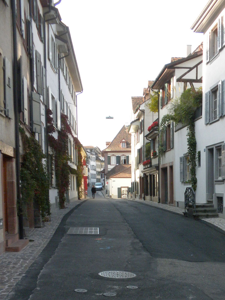 One of the best parts about Basel is enjoying its beautiful old streets, many of which are as picturesque as this one.