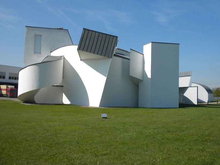 "Though Basel boasts a big list of amazing museums, I was most excited to head to the Vitra Design Museum (shown here) and <a href=""http://www.dwell.com/slideshows/touring-vitra-campus-part-1.html"">Vitra campus</a> located in Weil-am-Rhein, Germany, a 25-m"
