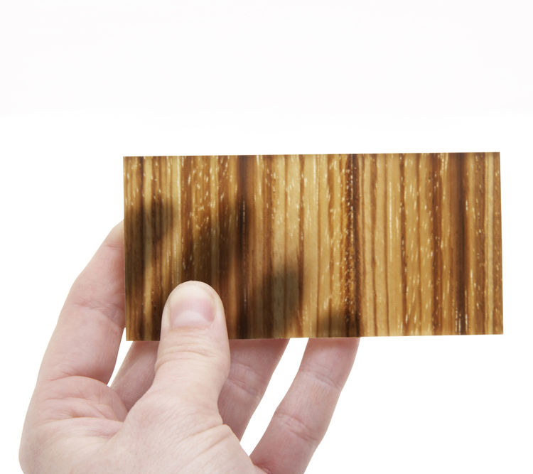 "<b><a href=""http://www.inventables.com/technologies/translucent-wood"">9. Translucent Wood.</a></b> Why Kaplan digs it: ""It's amazingly beautiful, translucent, wood grain design that allows you to bring the forest inside and create a unique fusion of tradi"