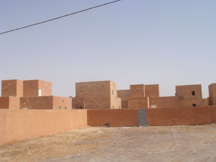 Here, an image by Adjaye in Nouakchott, the capital of Mauritania, a country in western Africa just north of Senegal.