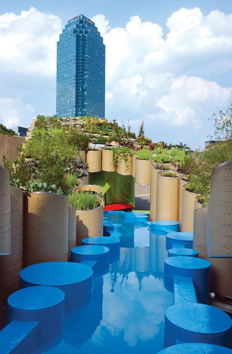 """Urban Farm by <a href=""""http://work.ac/"""">WORKac</a>"""