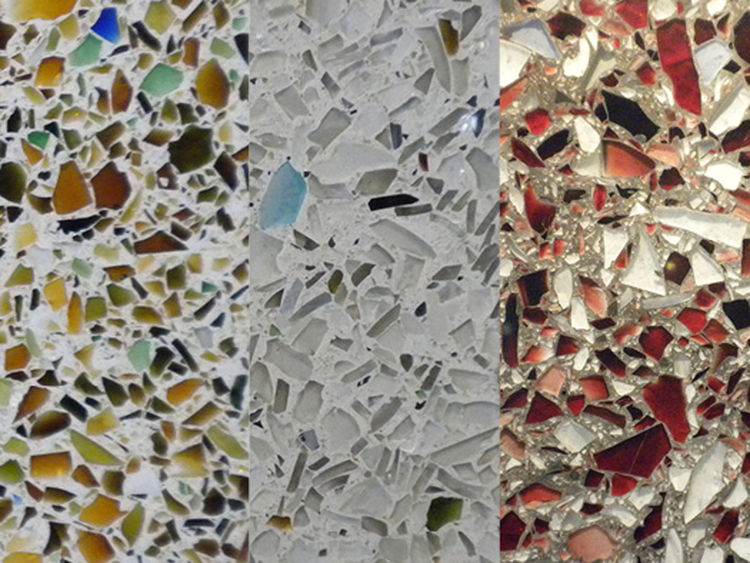 """<a href=""""http://www.vetrazzo.com/"""">Vetrazzo</a>, a glass surfaces company, was recently acquired by Polycor and moved its production from the Bay Area to Tate, Georgia. Its manufacturing process--using 100-percent recycled glass and cement--and """"story-bas"""