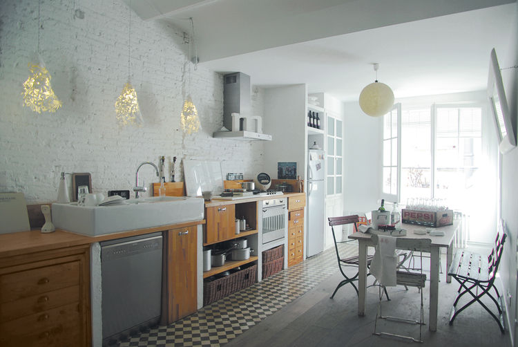 See Carlos and Antoine's Barcelona kitchen in our special <i>100 Kitchens We Love</i> issue, on newsstands April 5, 2011.