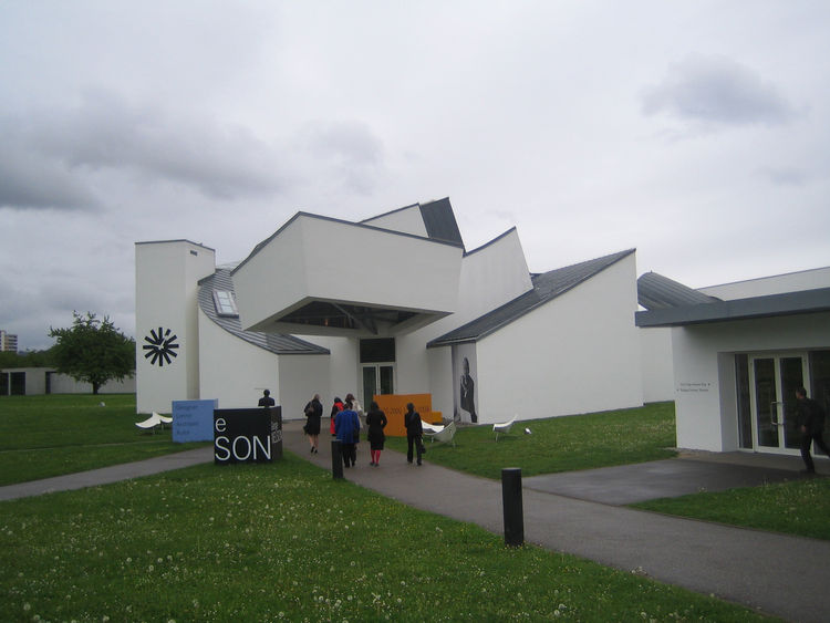 The Frank Gehry Design Museum at Vitra HQ