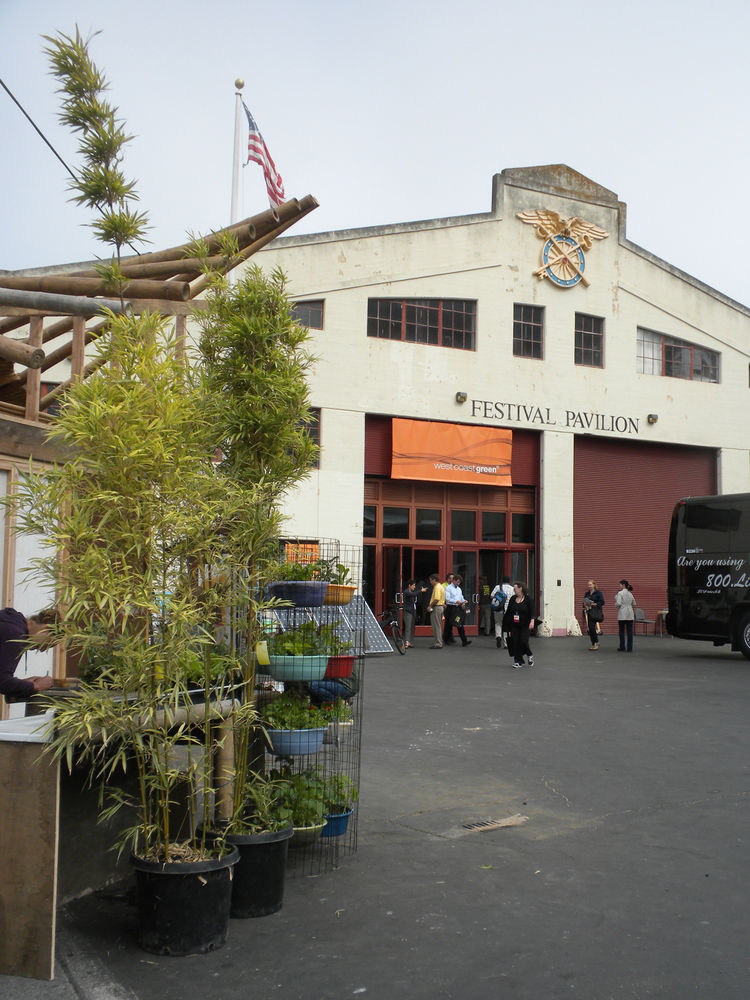 San Francisco's Fort Mason and its Festival Pavilion is playing main stage for the three-day event, which closes Saturday afternoon.