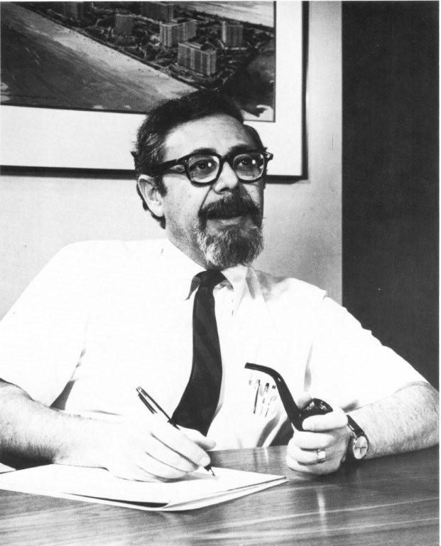 William Krisel circa 1970.
