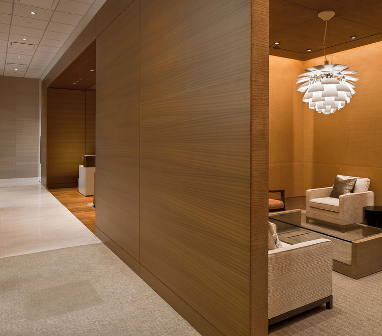 """Elements like this breakout room create a """"balanced and peaceful space,"""" a juror said."""
