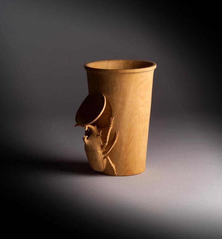 World Cups. Wood. Designer: IDee Liu.