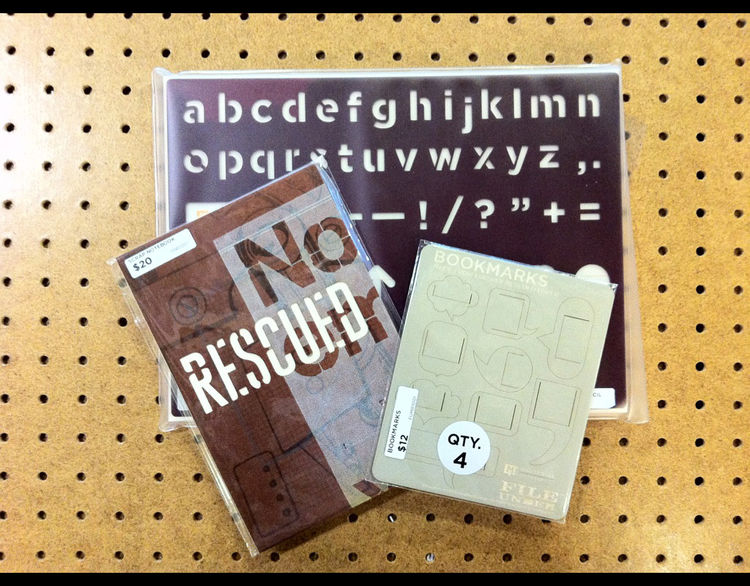 "One of Corrigan's favorite designers is Rick Griffith of <a href=""http://www.morematter.com/"">Matter</a>. ""He's got a snarky sense of humor and puts it into his letterpress goods,"" Corrigan says."