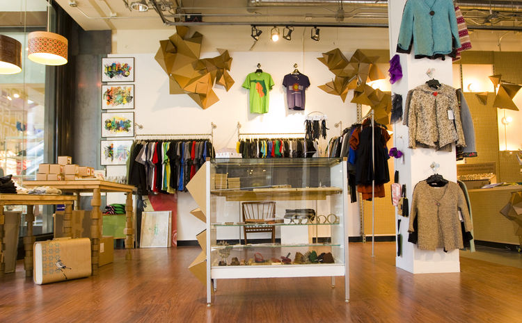 Open through February is Yes Please More's third pop-up shop, a 2,000-square-foot store tucked inside the Denver Pavilions shopping center.