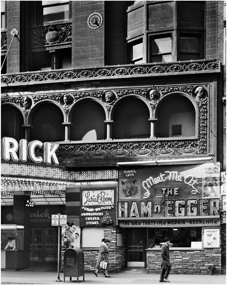 "Schiller Building (later Garrick Theater), Chicago, Illinois, built 1891. Photo courtesy of <a href=""http://www.richardnickelcommittee.org/"">The Richard Nickel Committee and Archive</a>."